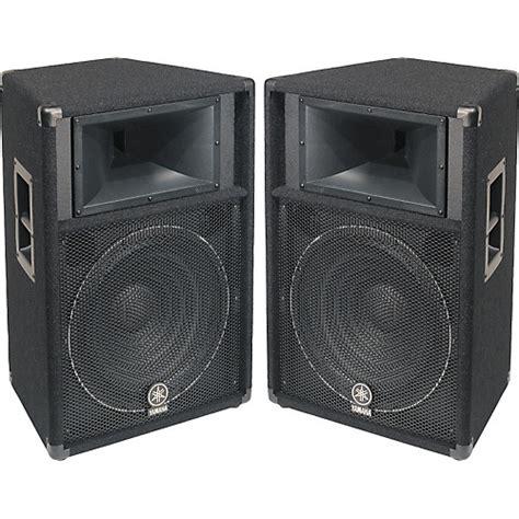 Speaker Yamaha Yamaha S115v 2 Way 15 Quot Club Series V Speaker Pair Musician S Friend