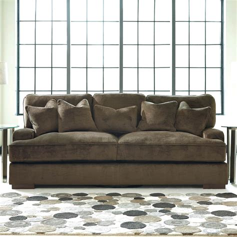 Benchcraft Sectional by Bench Craft Sofa Danely Dusk Polyester Sofa Chaise
