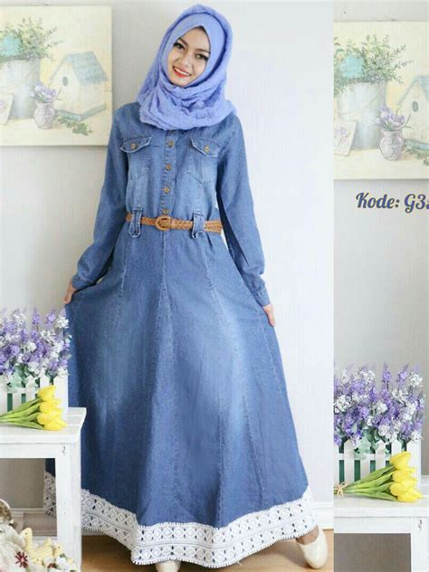 Dress Payung Renda gamis renda payung g357 baju style ootd
