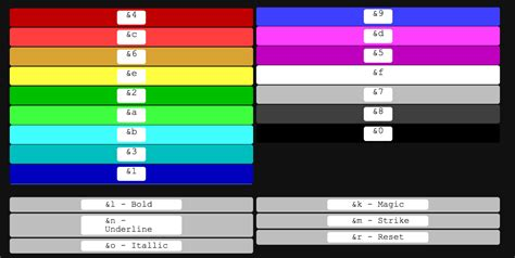 cod color mc color code