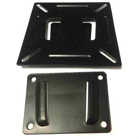 Tv Bracket Metal 75 X 75 Pitch 14 22 Inch Monitor Tv Black Ombv07bk bracket penyangga tv menggantung tv di dinding dengan