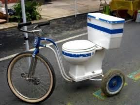 Funny Toilet Paper Holder toilet bike