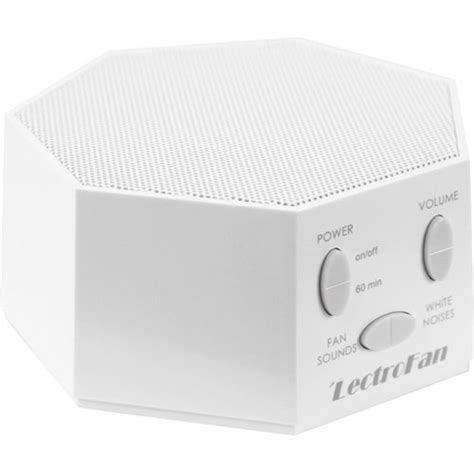 sound machine with fan noise lectrofan white noise and fan sound machine white