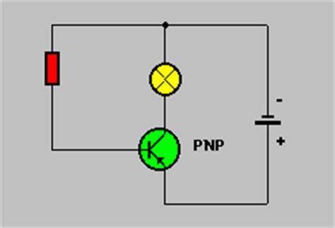 transistor pnp als schalter elektronik grundlagen ladung und strom