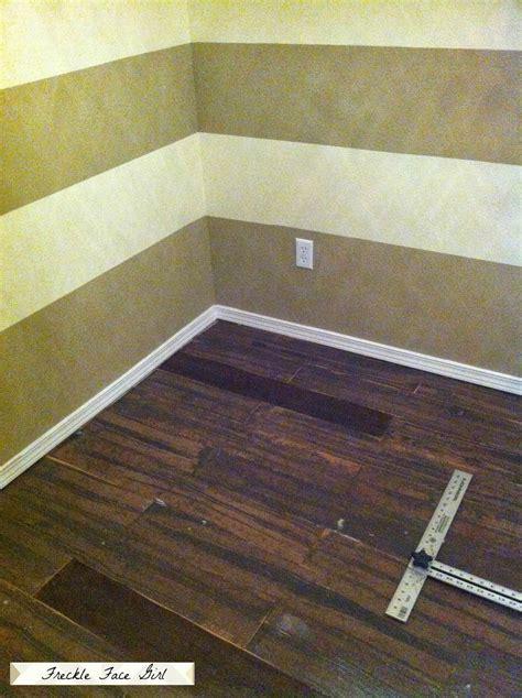 artificial wood flooring remodelaholic faux wood plank floors using brown paper