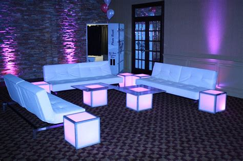 Lounge Tables by Plush Lounge Furniture Rentals Ct Westchester Ny