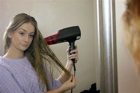 Using Hair Dryer Everyday beleza by ems the panasonic hairdryer with nanoe technology