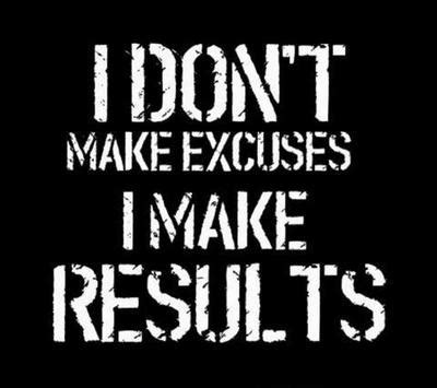Diet Excusesdo You Fit In by Not Getting Results From Your Workouts It S Not You It S