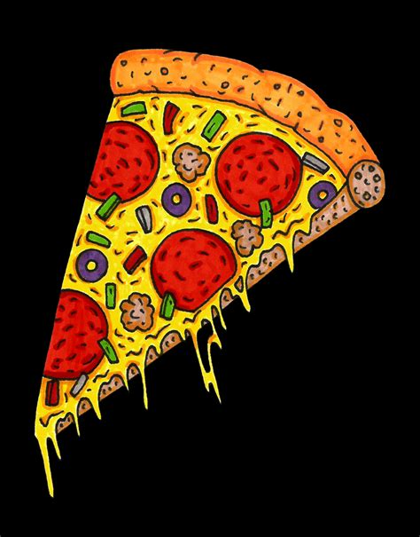 Illustration Pizza GIF   Find & Share on GIPHY