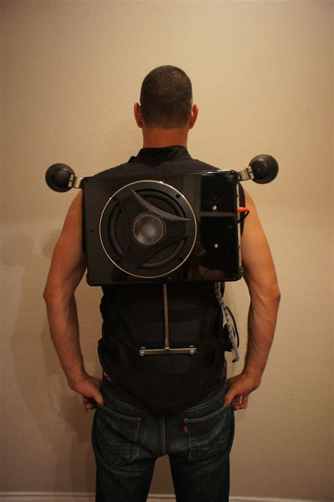 Daypack Kalibre Inventro wearable boombox backpack packs a punch bit rebels