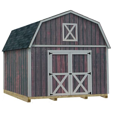Best Barn Sheds by Shop Best Barns Common 12 Ft X 20 Ft Interior