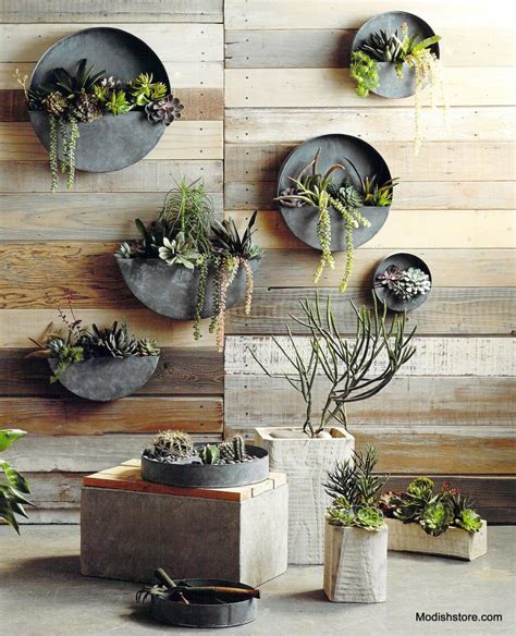 terrain home decor terrain divided circle wall planter copycatchic
