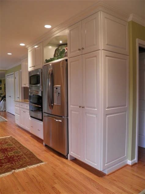 area above kitchen cabinets display area over the fridge kitchens pinterest