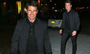 Tom Cruise Attacks Nyc Hollyscoop by Tom Cruise Looks Ready To Mingle In All Black As He Heads
