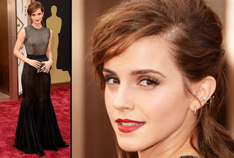 emma watson details our favorite accessories from the 2014 academy awards mtv