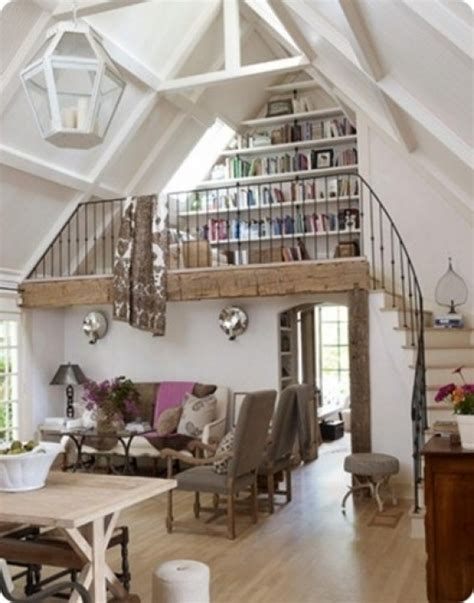 small loft small library and reeding nook in loft favething com