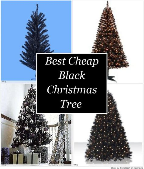 best cheap black christmas tree a listly list