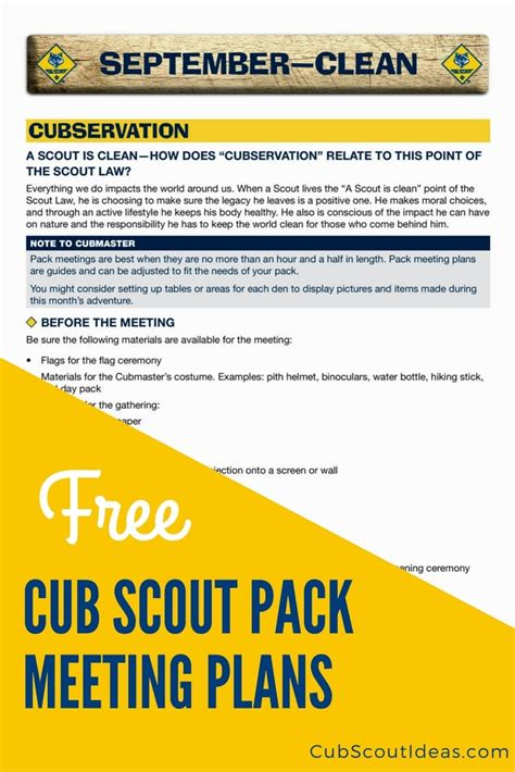 Download Your Free Cub Scout Pack Meeting Plans Cub Scout Ideas Cub Scout Planning Calendar Template 2018 2019