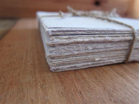 Handmade Writing Paper - white handmade paper recycled paper wedding paper