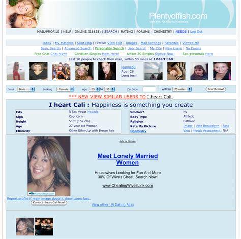plentyoffish dating dna blog