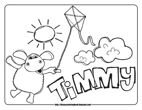 Timmy Time Coloring Pages disney coloring pages and sheets for timmy time 1 free disney coloring sheets