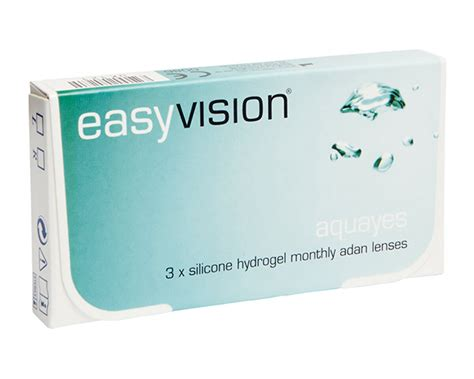 buy easyvision aquayes monthly disposable contact lenses specsavers australia