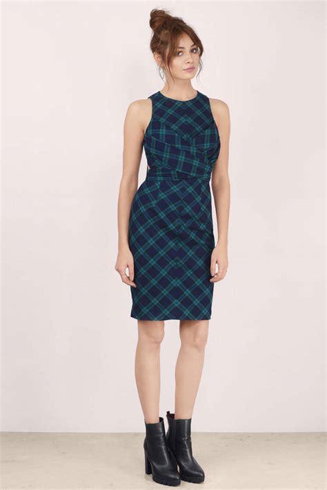 Plaid Midi Dress rock your fall winter fashion with plaid midi