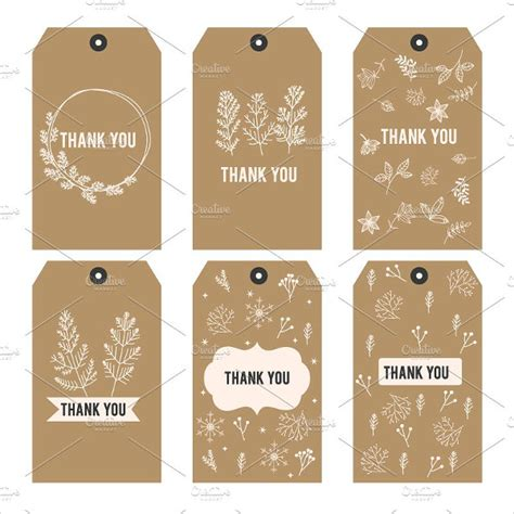 thank you card tag template free 9 thank you tags psd vector eps jpg