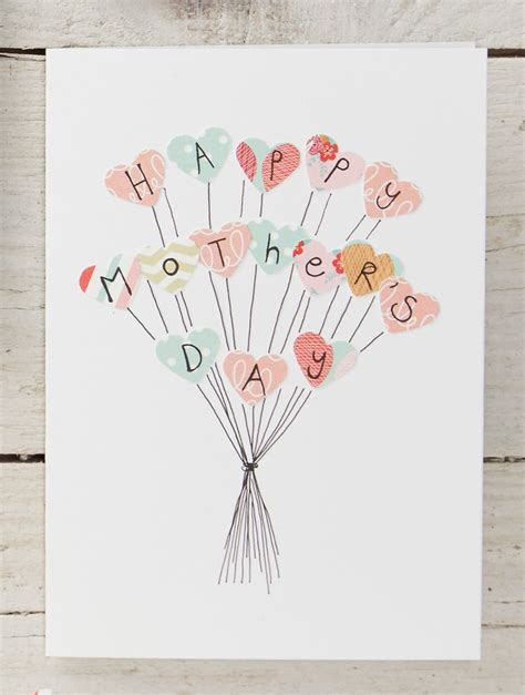 diy mother s day card 4 easy mother s day cards to make diy cards craft gifts