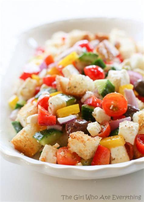 barefoot contessa greek salad 23 best images about panzanella salad on pinterest greek
