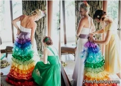 Wedding Dresses 2016 For Sale by Rainbow Wedding Dress For Sale 2016 2017 B2b Fashion