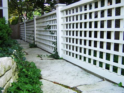 patio fence designs lattice fence design completes a garden decoration