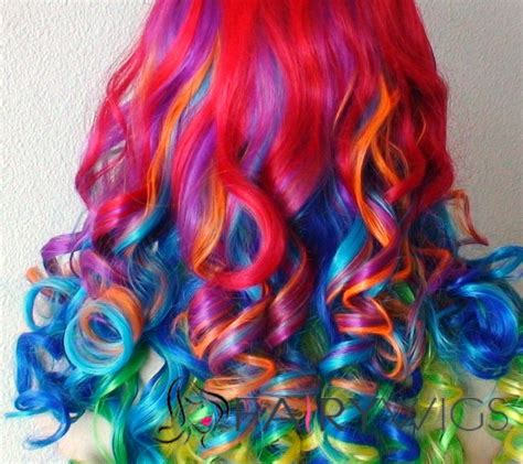 colorful ombre 22 inch wavy lace front colorful top quality high heated
