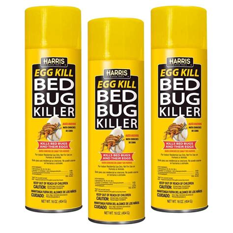 harris bed bug spray reviews harris 16 oz egg kill bed bug killer 3 pack egg16 3pk