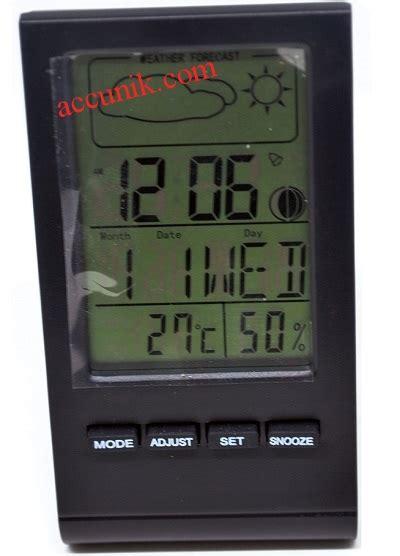 Jual Jam Thermometer jual jam meja serba guna digital thermometer hydrometer