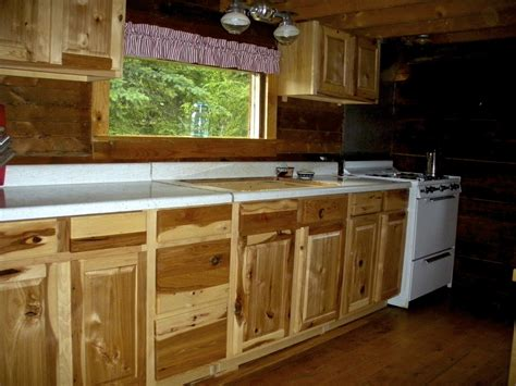 Lowes Kitchen Cabinets Pictures Lowe S Kitchen Cabinets Hickory Cabin Style Explore Build Do