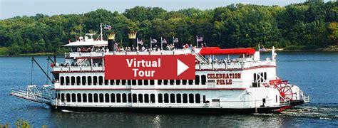 mississippi riverboat cruises galena il celebration belle