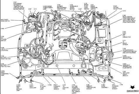 1998 lincoln town car engine diagram i a 1996 lincoln town car and the heater fan will not