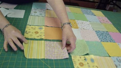 How Do You Do Patchwork - make a baby quilt part 1 fabric selection assembly