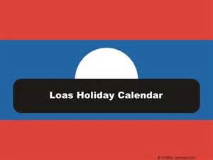 Laos Calendã 2018 Laos 2017 2018 Calendar