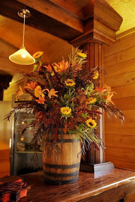 vintage home love autumn table decor and a vintage industrial table fall flower arrangement pictures photos and images for