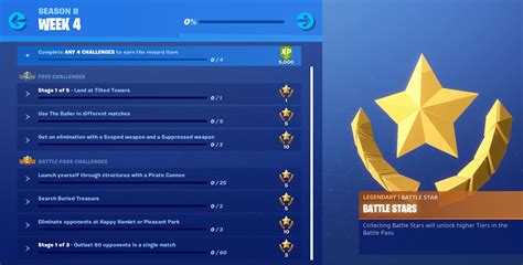 fortnite season  week  challenges fortnite insider