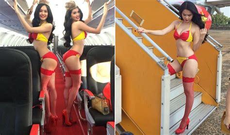 Women Pictures Flight Attendant Nude