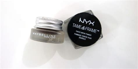 Maskara Alis Nyx review produk alis nyx vs maybelline daily