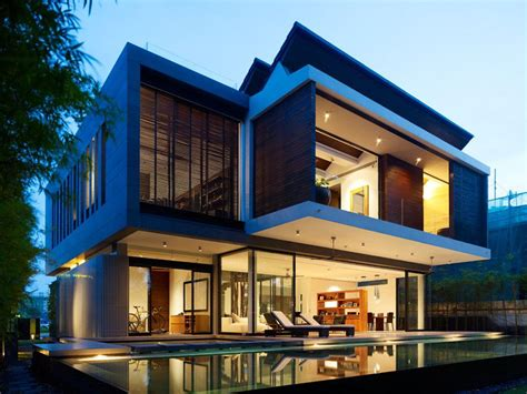 amazing modern architecture of the beautiful house design custom home design