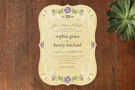 fairytale wedding invites tale wedding invitations from minted this