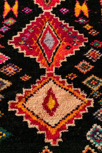 galaga rug sold galaga boucherouite vintage moroccan berber carpet coco carpets
