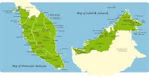 map of western map of east and west malaysia travel malaysia malaysia