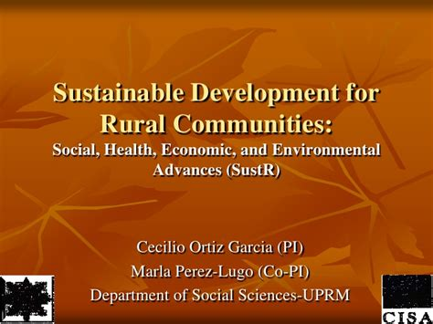 Sustainability In Urban And Rural Development What You | sustainable development for rural communities