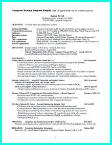 resume sles for lecturer in computer science rtf resume for lecturer in computer science